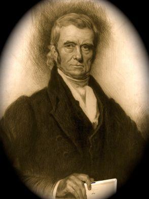 John Marshall with iPad